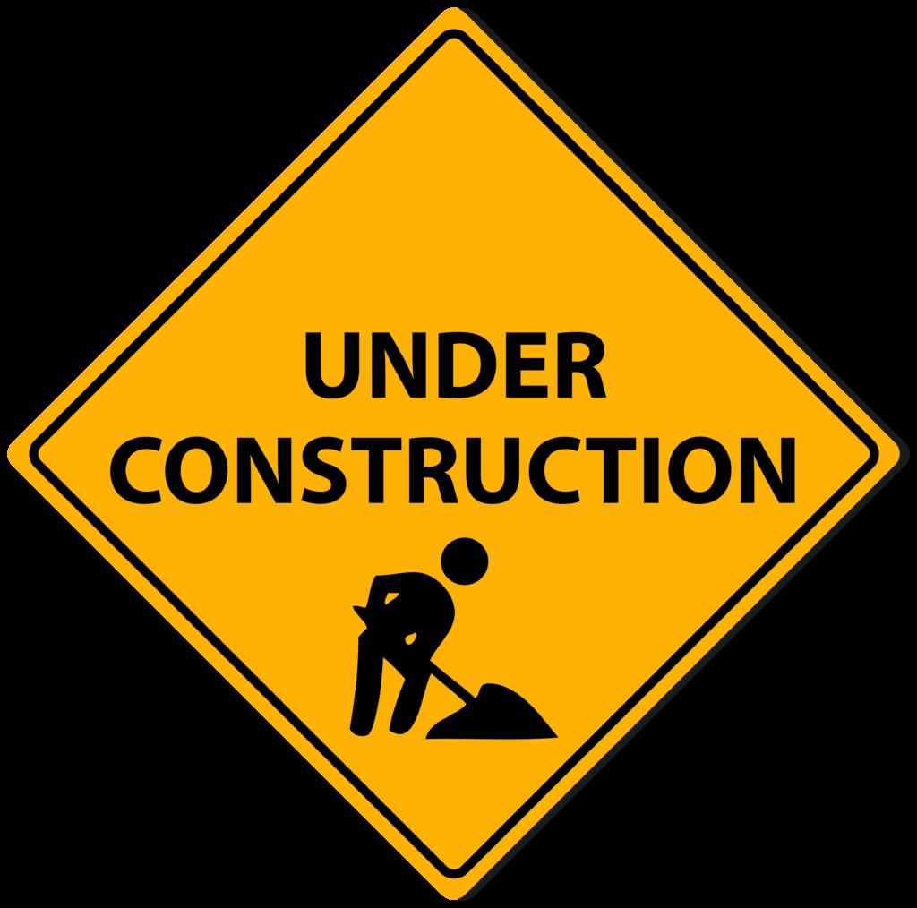 Under Construction Transparent